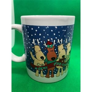 Other - Santa & Reindeer Coffee Mug